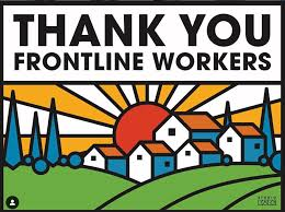 Thank You to Essential Workers with Printable Sign - 510 Families
